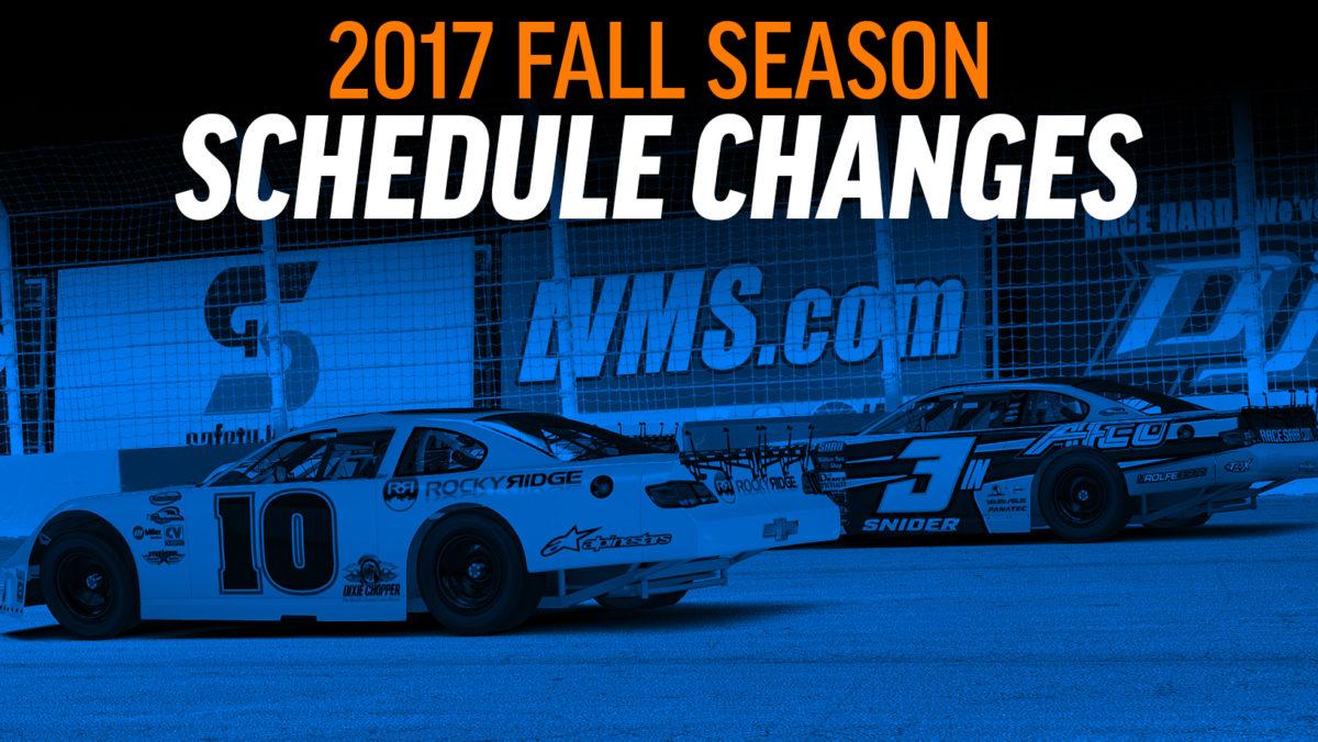 Fall Season Dates: 2017 Fall Season Schedule Changes